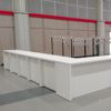 "Counter-Table White Lounge ""Group"" und ""Pair"""